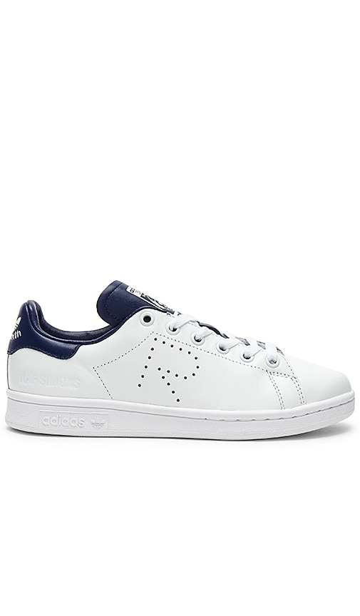 online store great deals new design adidas by Raf Simons Stan Smith Sneaker in FTW White & Night Sky ...
