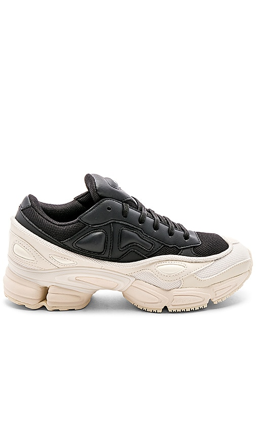 0983b48f04bdd1 adidas by Raf Simons Ozweego in Cream White   Core Black