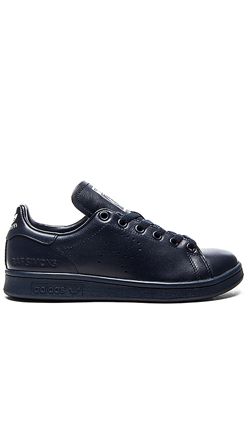 adidas by Raf Simons Stan Smith Sneaker in Navy & White
