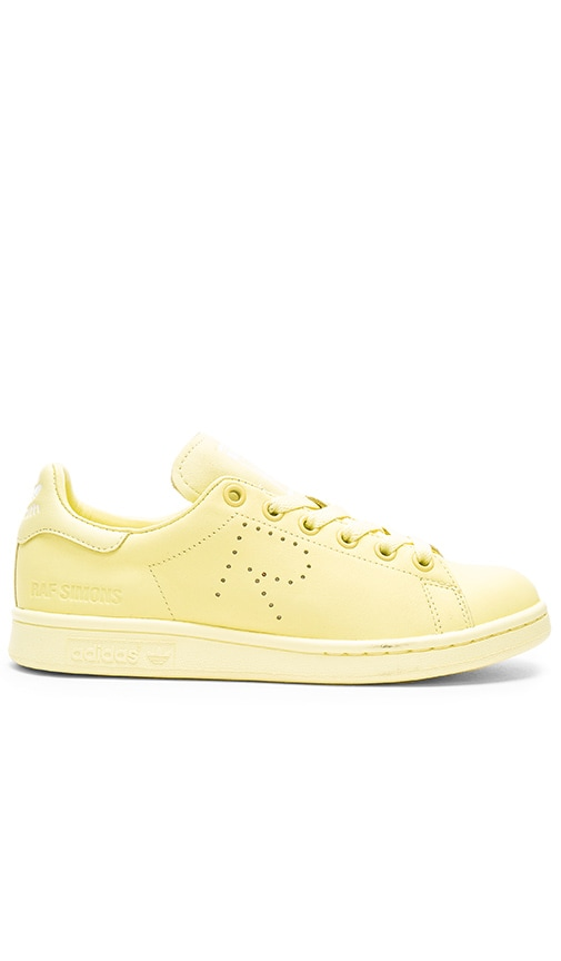 adidas by Raf Simons Stan Smith Sneaker in Blush Yellow