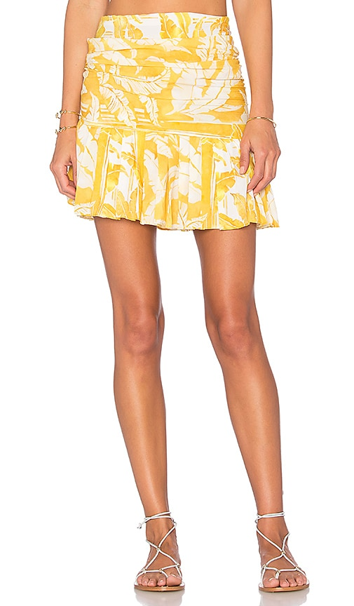 Tropical Leaves Skirt