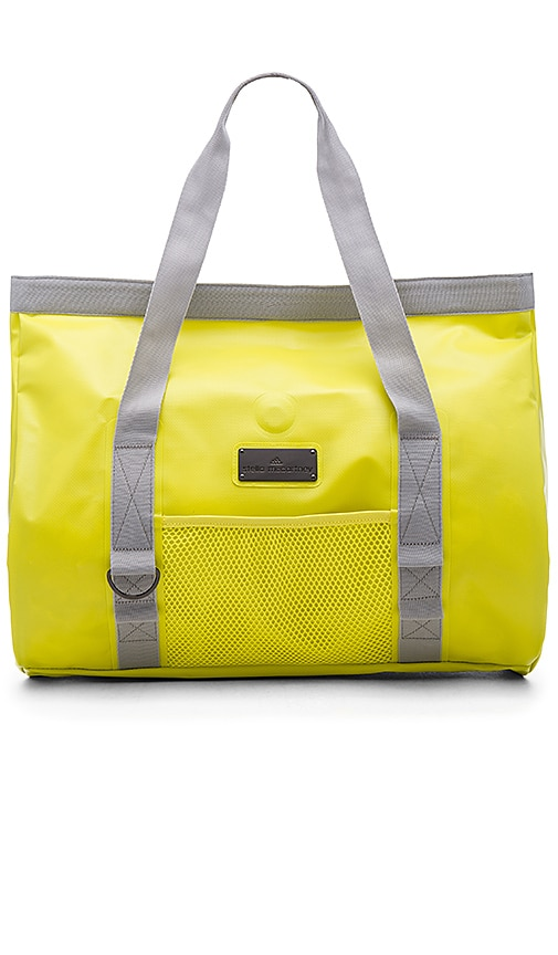 adidas by Stella McCartney Swim Tote in Yellow Zest & Pearl