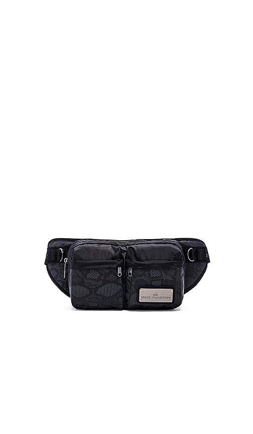 b74cd26cfe adidas by Stella McCartney Bum Bag in Black   Gunmetal