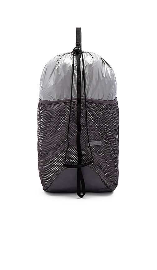 565bc4a5e2 adidas by Stella McCartney Run Packable Backpack in Silver   Granite ...