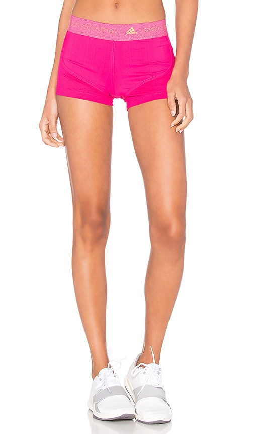 adidas by Stella McCartney Run Climachill Short in Glow Pink