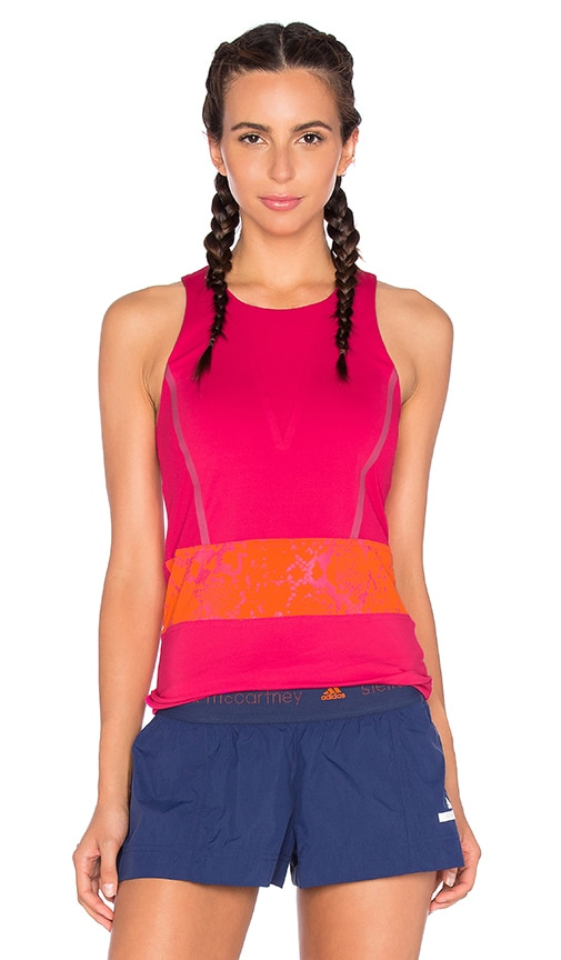 adidas by Stella McCartney Run Climacool Tank in Pink