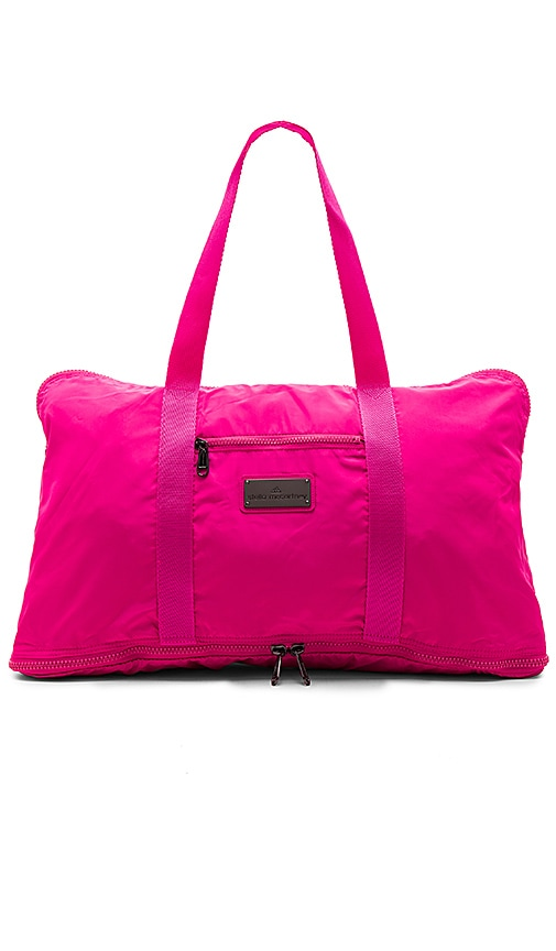 adidas by Stella McCartney Yoga Bag in Shock Pink   Ruby Red  d5d50a85e2690