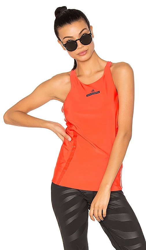 adidas by Stella McCartney Run Tank in Red