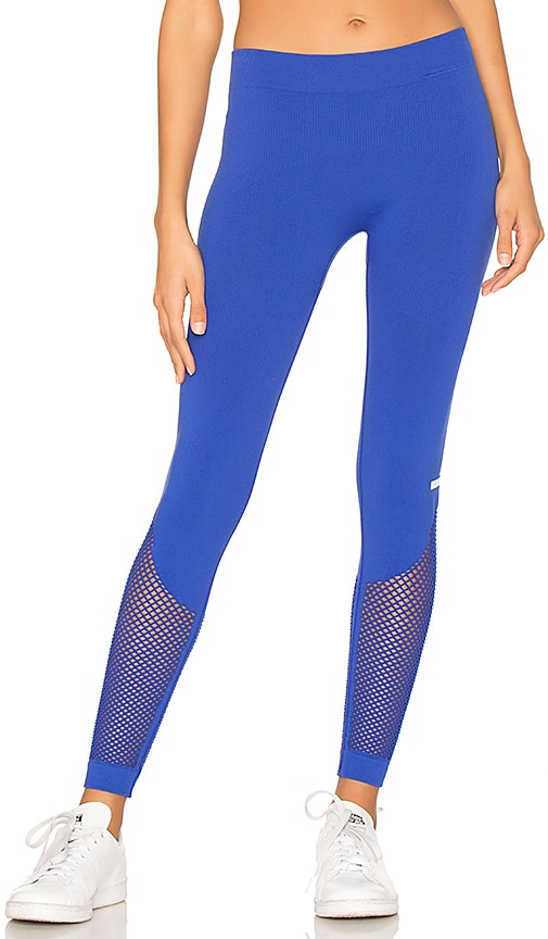 adidas by Stella McCartney The Seamless Mesh Tight in Royal