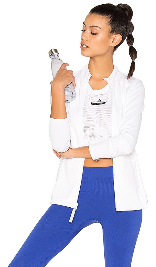 adidas by Stella McCartney The Midlayer Jacket in White