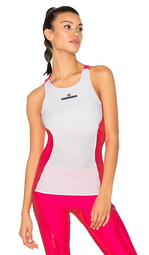 adidas by Stella McCartney Run Tank in Fuchsia