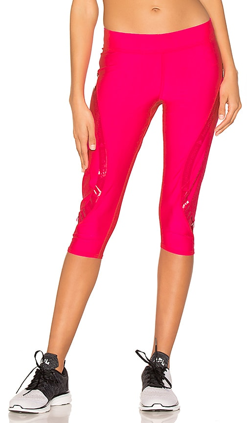 e83c9e37e00d1 adidas by Stella McCartney Run 3/4 Tight in Shock Pink | REVOLVE