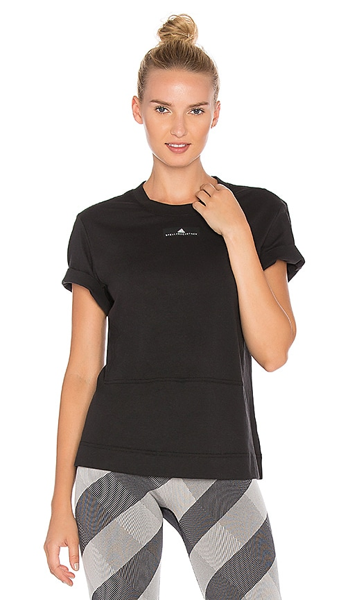 adidas by Stella McCartney Run Loose Tee in Black