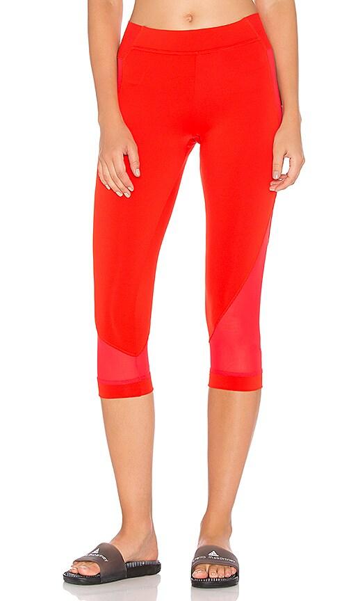 adidas by Stella McCartney Train 3/4 Tight in Red