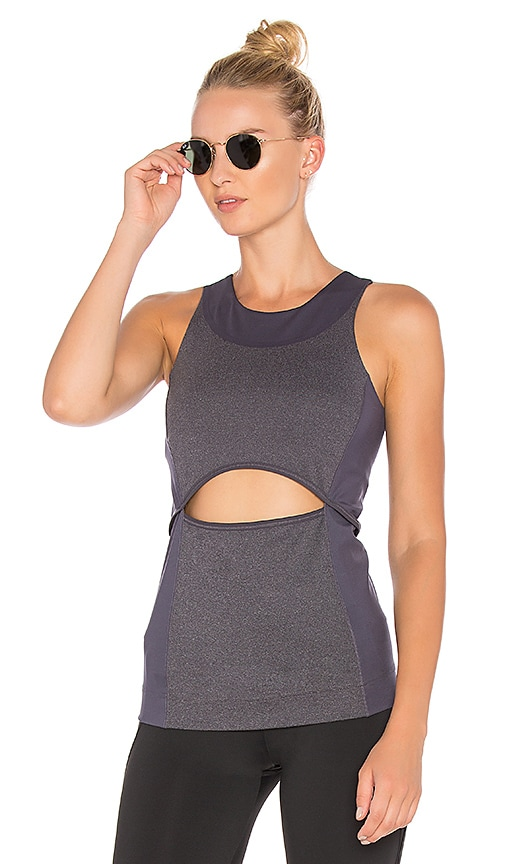 adidas by Stella McCartney Yoga Comfort Tank in Gray