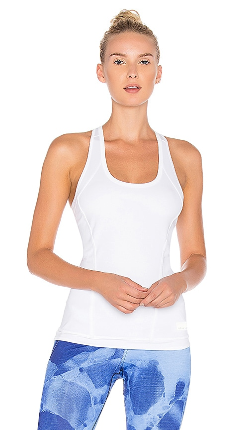 adidas by Stella McCartney The Performance Tank in White