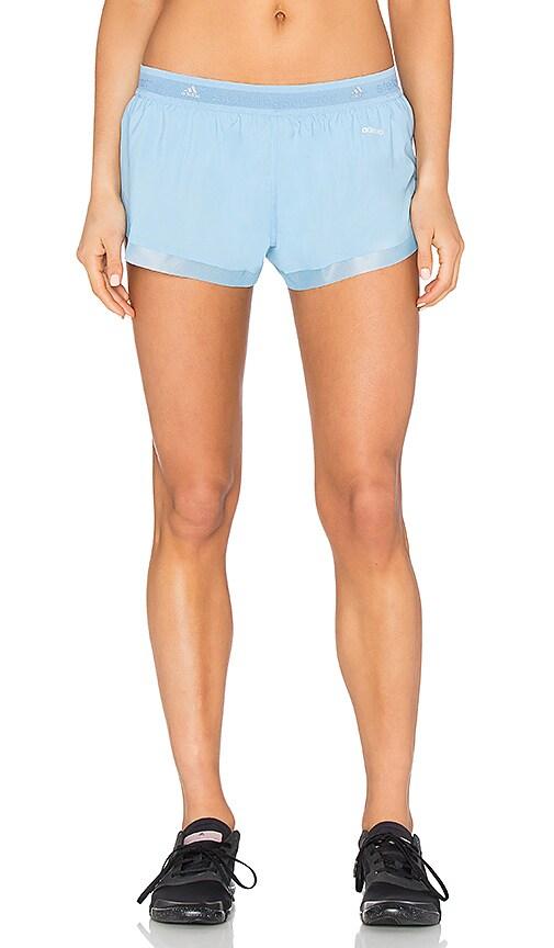 adidas by Stella McCartney Run Adizero Short in Breezy Blue