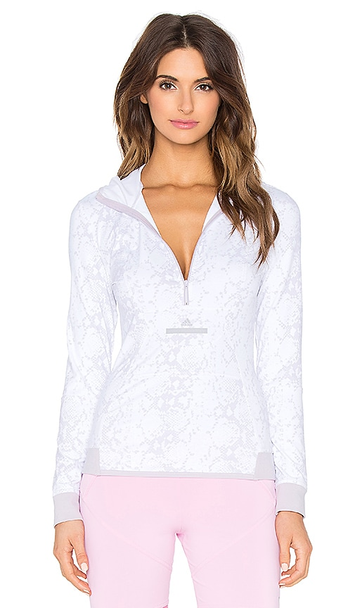 adidas by Stella McCartney Essentials Hoodie in White
