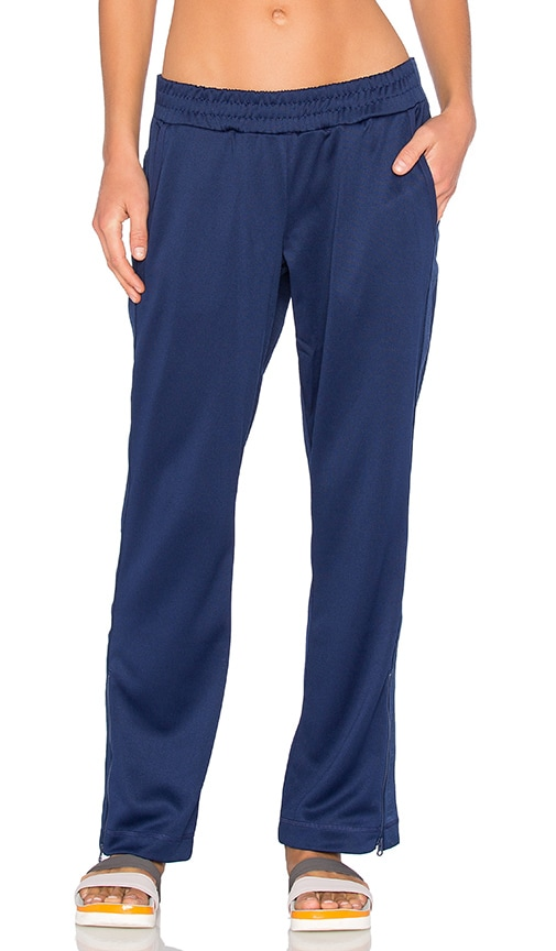 adidas by Stella McCartney Studio Logo Pant in Dark Blue