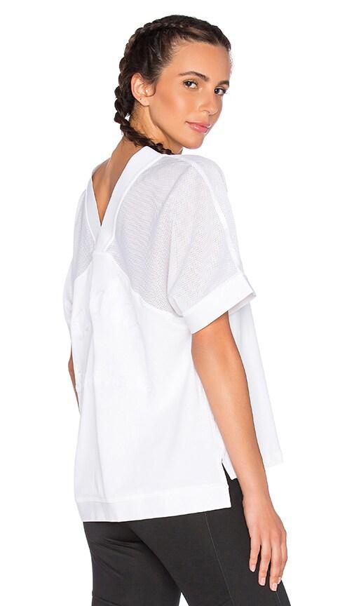 adidas by Stella McCartney Essentials Mesh Tee in White