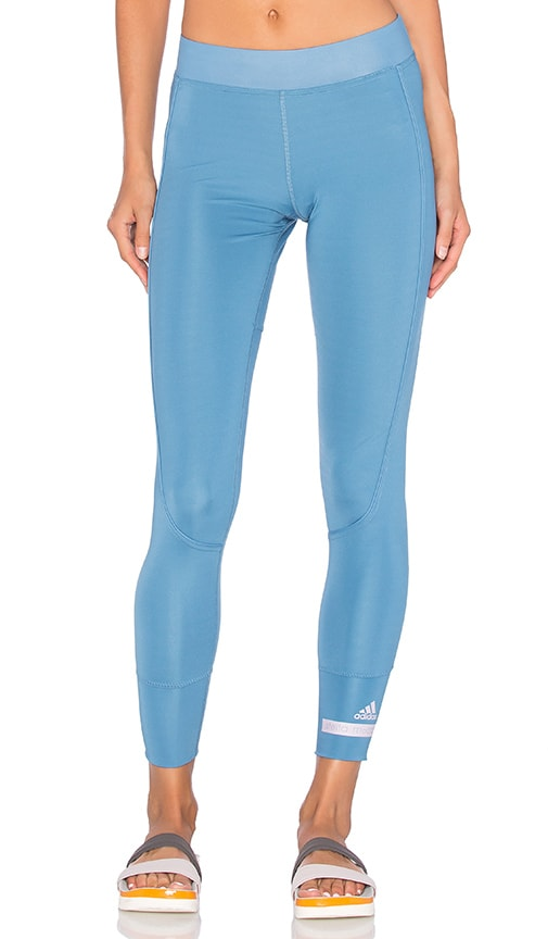 adidas by Stella McCartney The Performance 7/8 Legging in Chino Blue