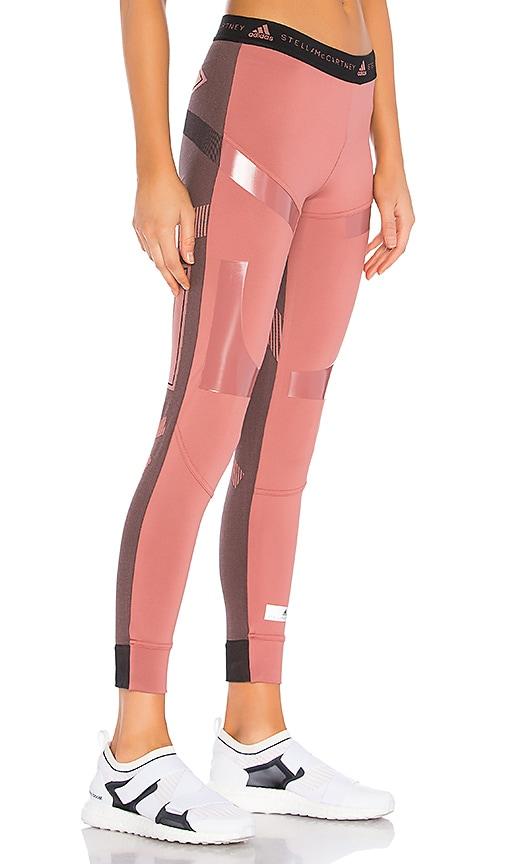 da2810acd4761 adidas by Stella McCartney Run Ultra Legging in Coffee Rose | REVOLVE