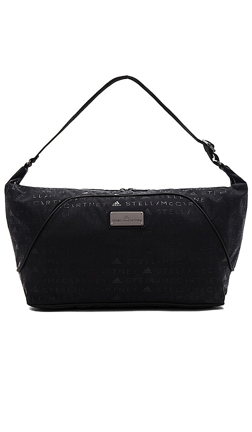adidas by Stella McCartney Sports Bag S Black Granite & Gunmetal