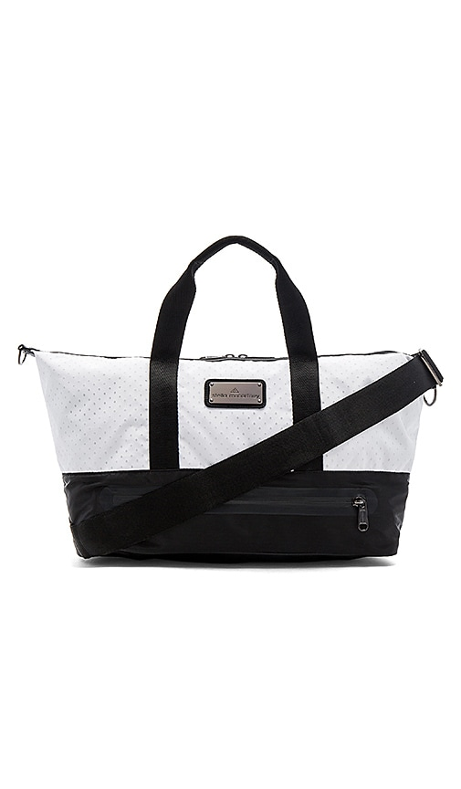 adidas by Stella McCartney Gym Bag S in Black & White