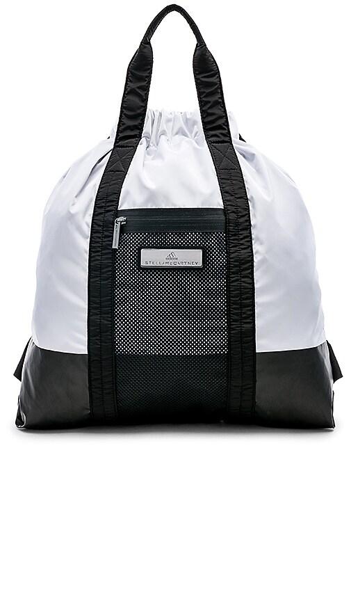 92f88443c79a adidas by Stella McCartney Gym Sack in Black   White