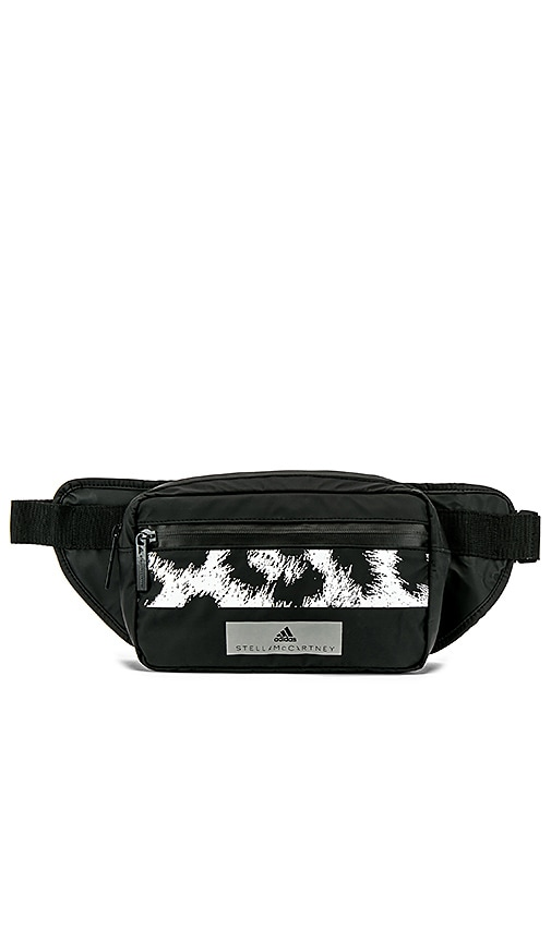cc95e820b7c3 adidas by Stella McCartney Bum Bag in Black   White