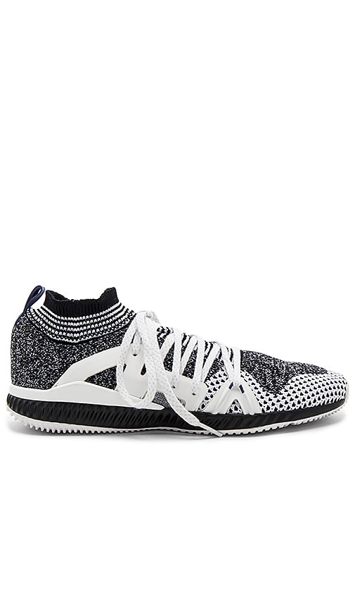 adidas by Stella McCartney Crazymove Bounce Sneaker in Black & White