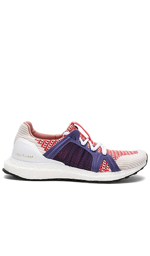 adidas by Stella McCartney Ultra Boost Sneaker in Red