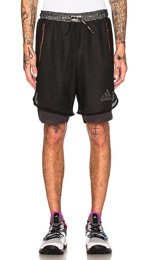 Adidas x Kolor CLMCHL Shorts in Black