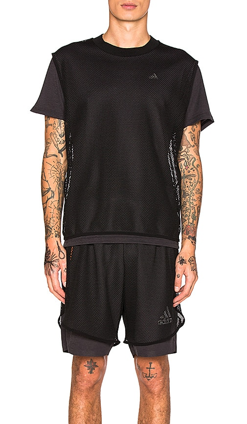 Adidas x Kolor CLMCHL Tee in Black