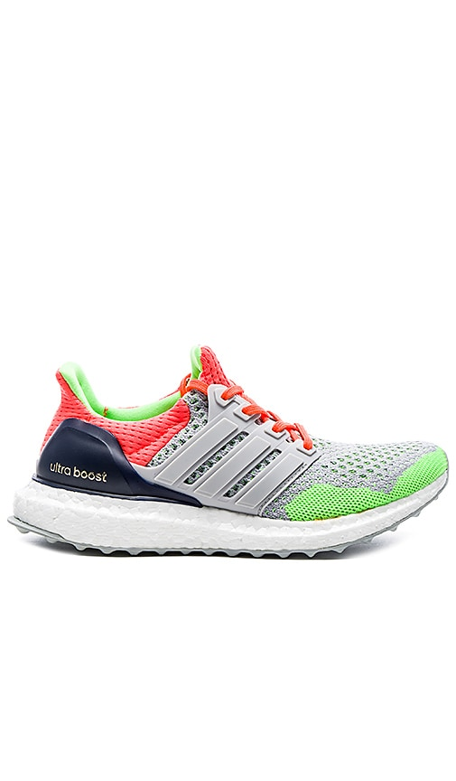 53bb5c29ca5e5 Adidas Ultra Boost KOLOR Sneaker in Light Grey   Solar Orange   Dark ...