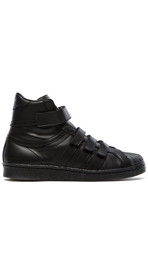 afda44b6df3 adidas by JUUN J Promodel 80s Hi JJ in Black Black Black