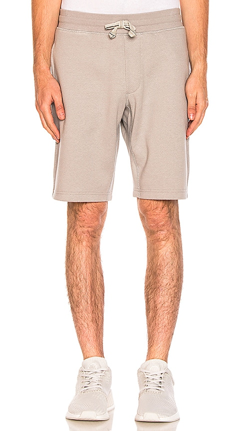 adidas by wings + horns Bonded Linen Shorts in Gray
