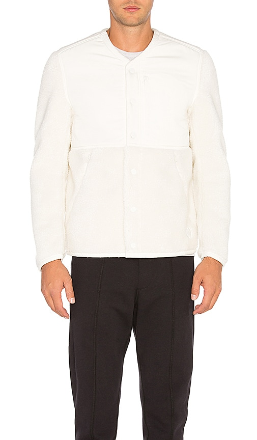 adidas by wings + horns Sherpa Jacket in White