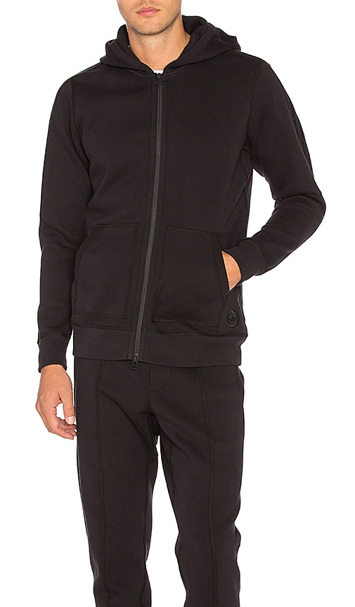 adidas by wings + horns Bonded Hoody in Black