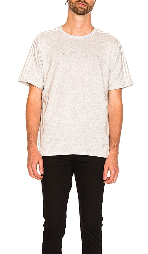 adidas by wings + horns WH Tee in Gray