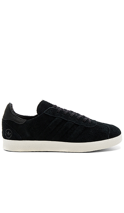 sale retailer 0ce51 68d9a adidas by wings + horns WH Gazelle 85 in Black  REVOLVE