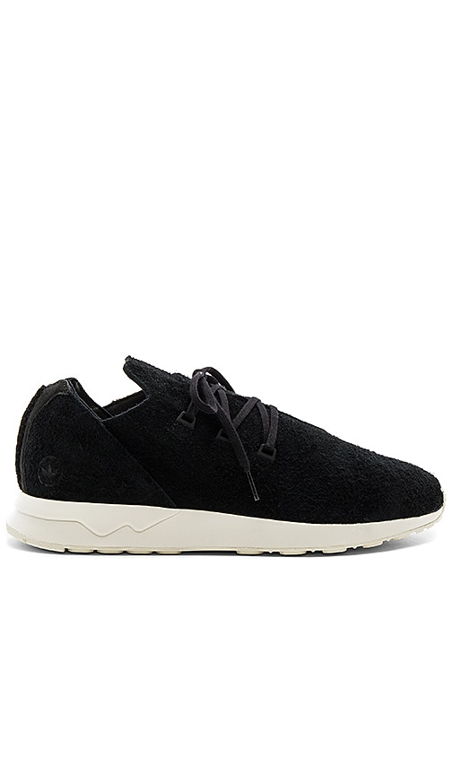sale retailer ed244 8ade2 adidas by wings + horns WH ZX Flux X in Black   REVOLVE
