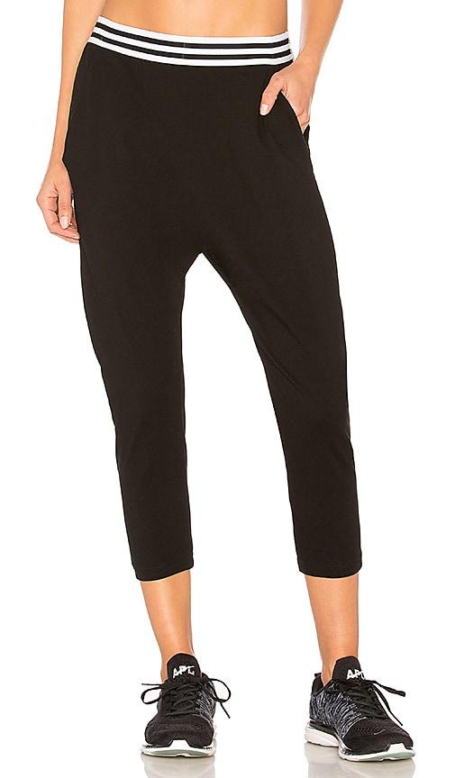 All Fenix Drop Crotch Pant in Black