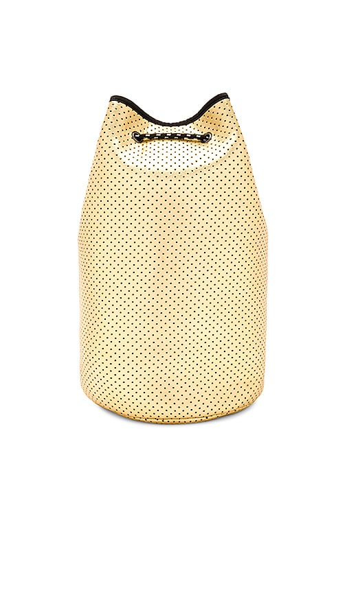 All Fenix Neoprene Bucket Bag in Metallic Gold