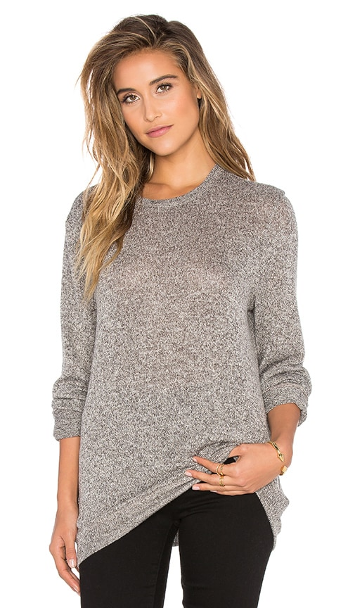 A Fine Line Ex Boyfriend Sweater in Gray