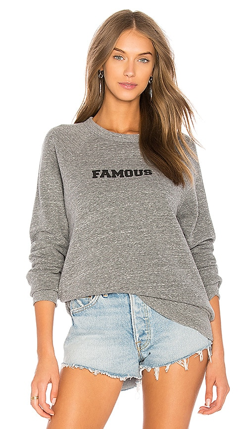 A Fine Line Famous College Sweatshirt in Gray