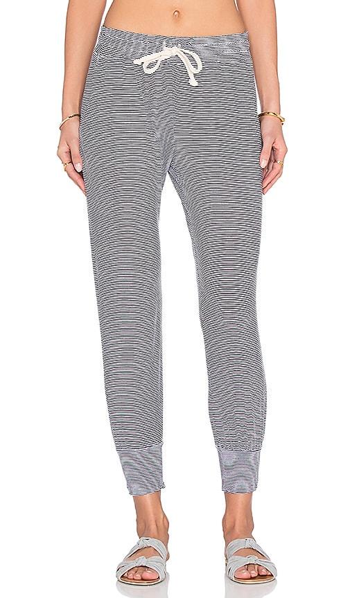 A Fine Line Varsity Pant in Stripe