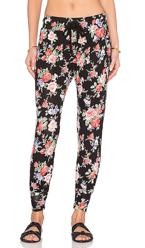 A Fine Line Varsity Pant in Garden Party