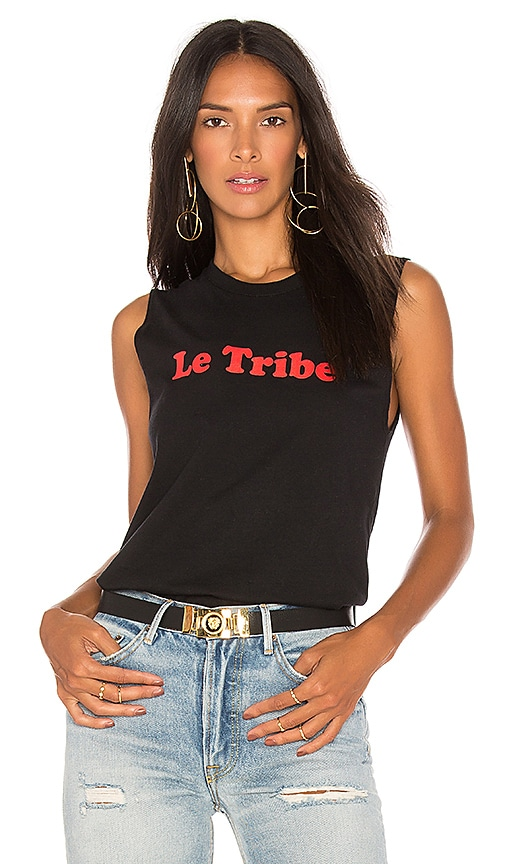 A Fine Line Le Tribe Muscle Tank in Black