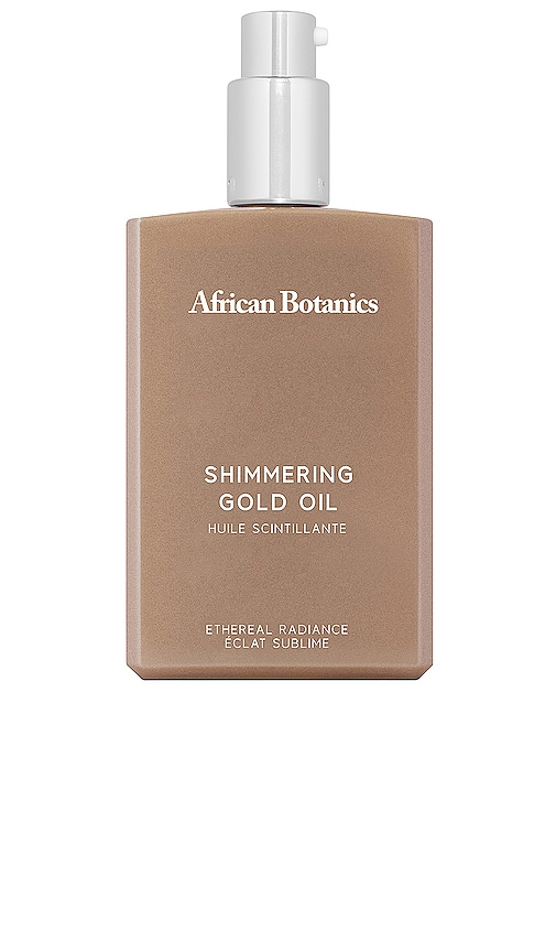 Marula Shimmering Gold Oil by African Botanics